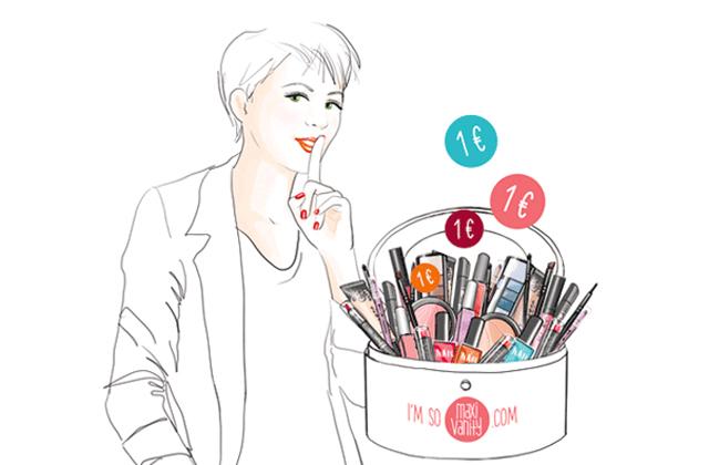Maxi Vanity, la nouvelle marque de maquillage à 1€