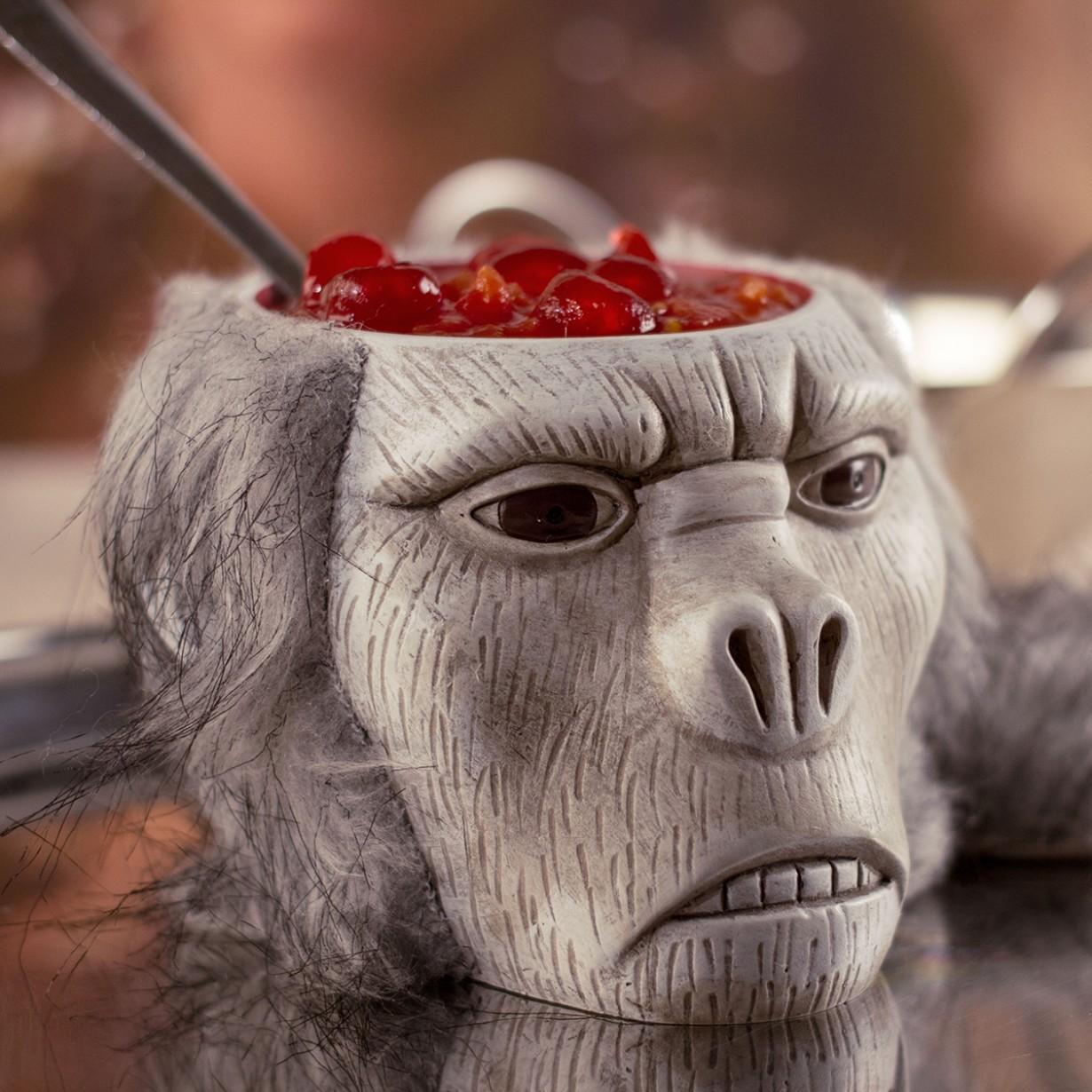 Tasse crâne de singe