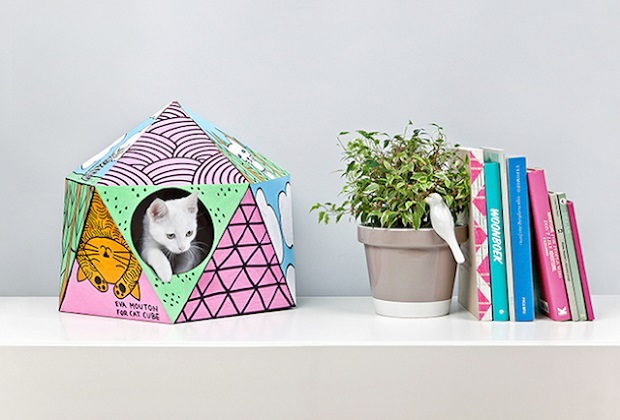 Des Maisons Pour Chats En Carton Recycl 233