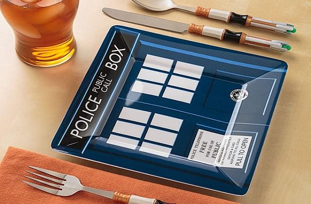 Les couverts Dr Who — Idée cadeau cool