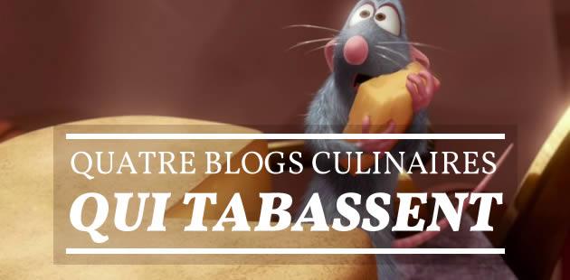Quatre blogs culinaires qui tabassent