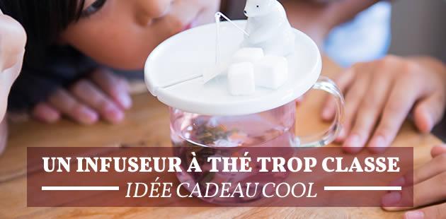 Un infuseur à thé trop classe — Idée cadeau cool