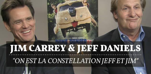 Jim Carrey et Jeff Daniels : «On est la constellation Jeff et Jim » — Interview vidéo