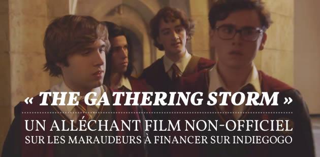 «The Gathering Storm », un alléchant film non-officiel sur les Maraudeurs à financer sur IndieGogo