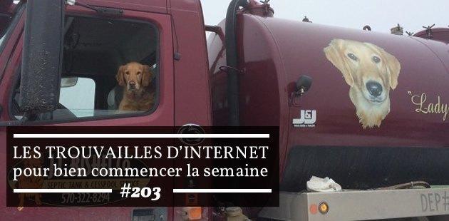 Les trouvailles d'Internet pour bien commencer la semaine #203