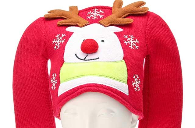 Le bonnet-pull de Noël de Claire's — WTF Mode