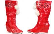 Les bottes-doudounes de Noël de Miss Coquines – WTF Mode