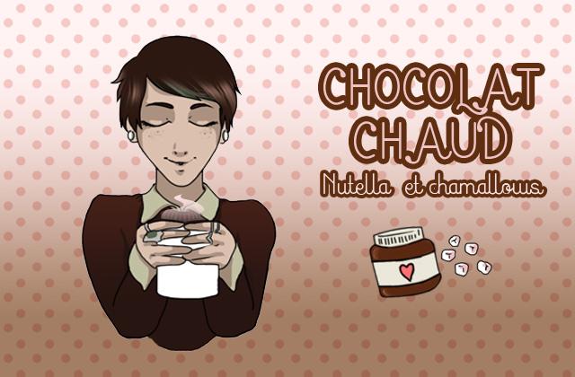 Le chocolat chaud du dimanche : Nutella-chamallows