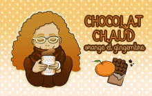 Le chocolat chaud du dimanche : orange-gingembre