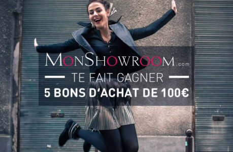 MonShowroom te fait gagner 500€ de bons d'achat !