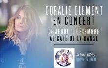 5×2 places à gagner pour le concert de Coralie Clément le 11 décembre