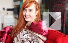 Caroline, de l'émission «Cousu Main», parle de son parcours en vidéo