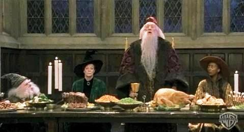 Un repas de f tes fa on poudlard en cinq recettes simples for Salle a manger harry potter