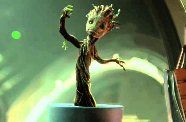 Groot («Les Gardiens de la Galaxie ») devient… une balançoire