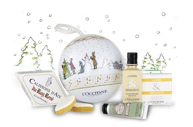 L'Occitane t'offre une boule de Noël surprise !