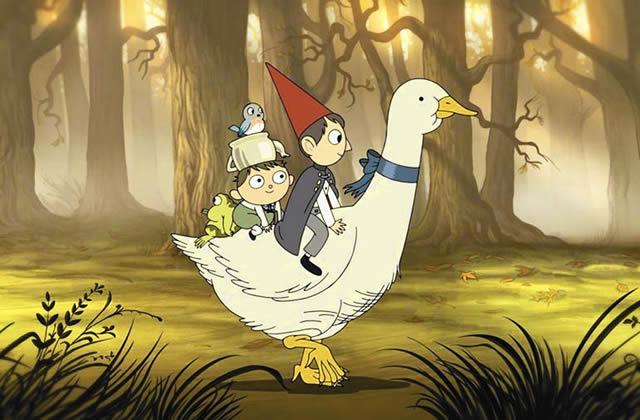 «Over the Garden Wall », une série animée à la fois glauque et magnifique