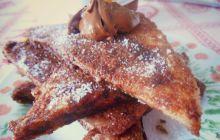 Recette du pain perdu au chocolat, parfait petit-déjeuner/goûter hivernal