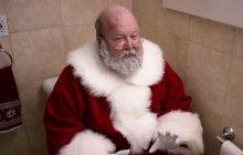 Le Père Noël a des gaz dans la pub pour Poo-Pourri