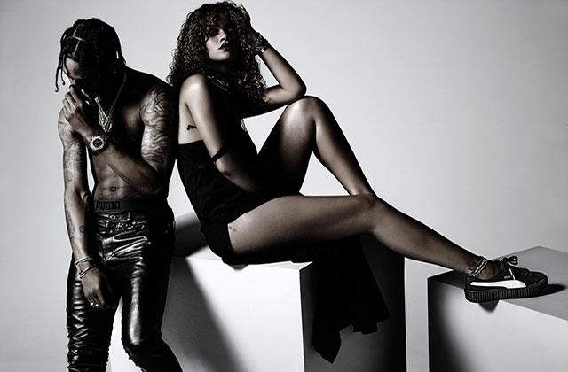 Rihanna et Puma dévoilent peu à peu leur collaboration