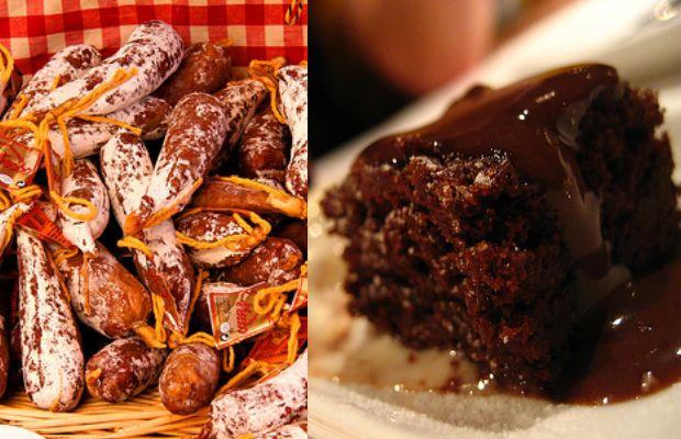 saucisson brownie
