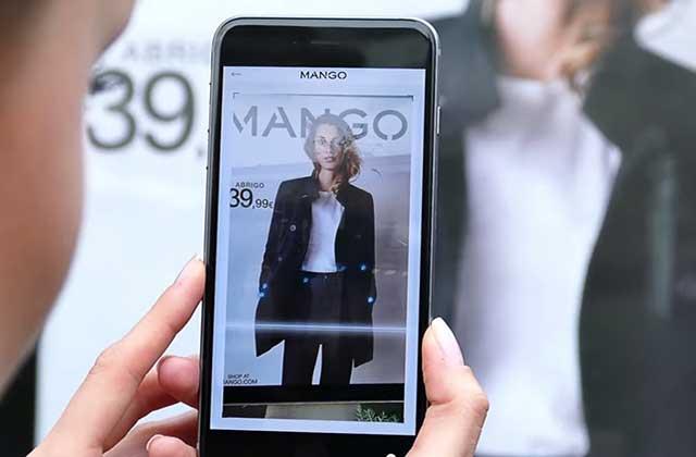 « Scan & Shop » : du nouveau sur l'appli Mango !