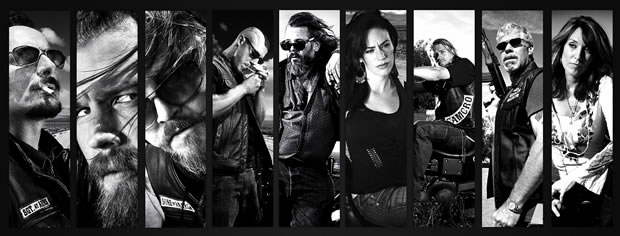 sons of anarchy personnages