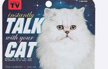 Un spray pour parler à son chat — Idée cadeau pourrie