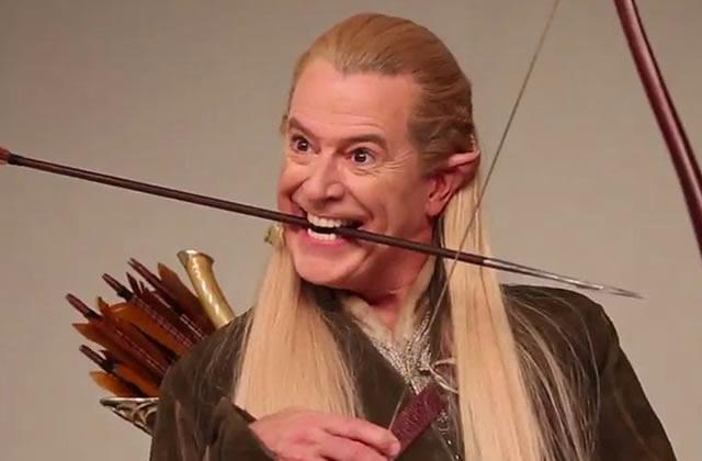 Stephen Colbert incarne les personnages du Hobbit pour Entertainment Weekly