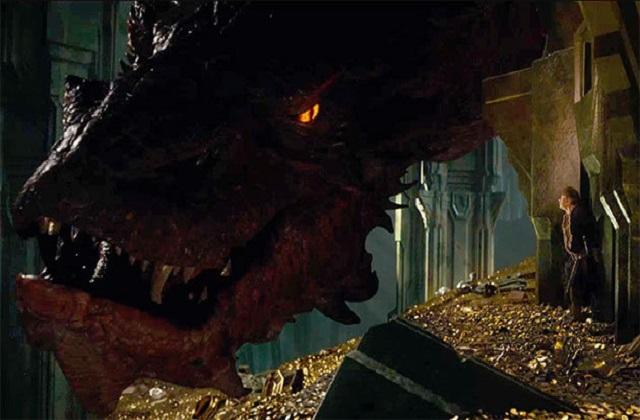 Stephen Colbert a un invité exceptionnel : Smaug le dragon !