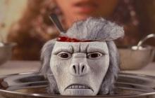 La tasse crâne de singe — Idée cadeau pourrie