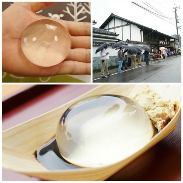 Mizu-Shingen-Mochi-Cake