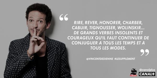 Vincent Dedienne Charlie Hebdo