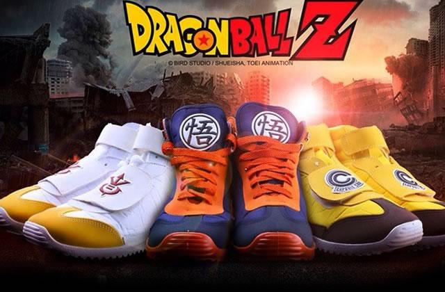 Des baskets aux couleurs de Dragon Ball Z