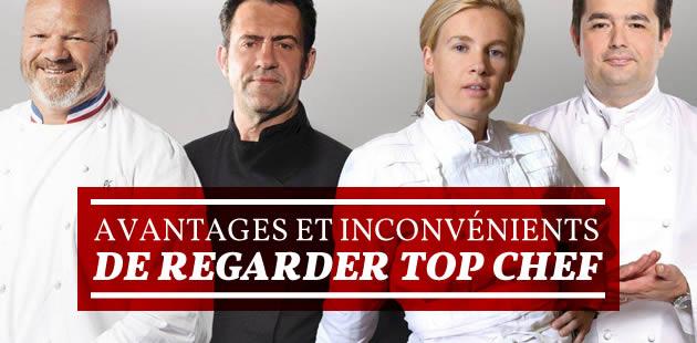 Top Chef 2015 : avantages et inconvénients de regarder l'émission