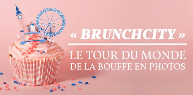 «BrunchCity», le tour du monde de la bouffe en photos