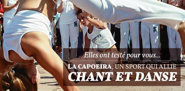 Elles ont testé pour vous… la capoeira, un sport qui allie chant et danse