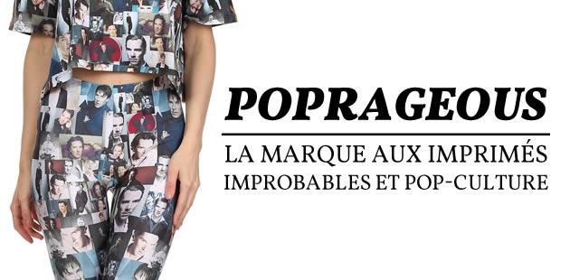 PopRageous, la marque aux imprimés improbables et pop-culture