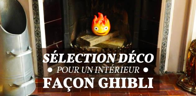Sélection déco pour un intérieur façon Ghibli