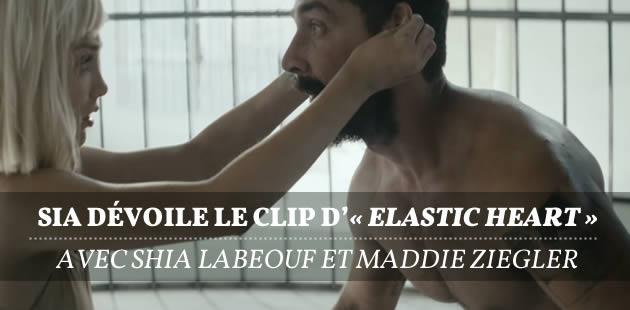 Sia dévoile le clip d'«Elastic Heart» avec Shia LaBeouf et Maddie Ziegler