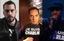 Trois chansons d'hommage en réaction à l'attentat contre Charlie Hebdo