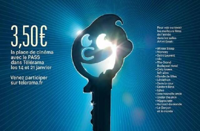 Le Festival cinéma Télérama 2015, dans les salles jusqu'au 27 janvier