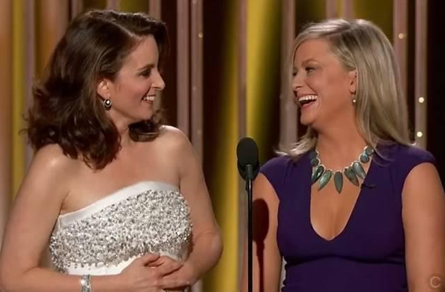 Aux Golden Globes 2015 Tina Fey et Amy Poehler livrent un discours d'ouverture grinçant