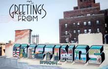 « Greetings From », un projet de street-art en forme de road-trip à travers les États-Unis