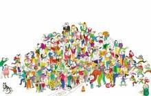 « La Guerre des Bisous », un livre à la bonne humeur contagieuse