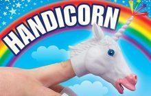 Le Handicorn, objet merveilleux qui transforme ta main en licorne