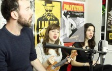Inglenook chante « La Voleuse » et « Weeping Man » en session acoustique