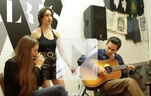 Kitty, Daisy & Lewis reprennent « Going up to the country » en acoustique