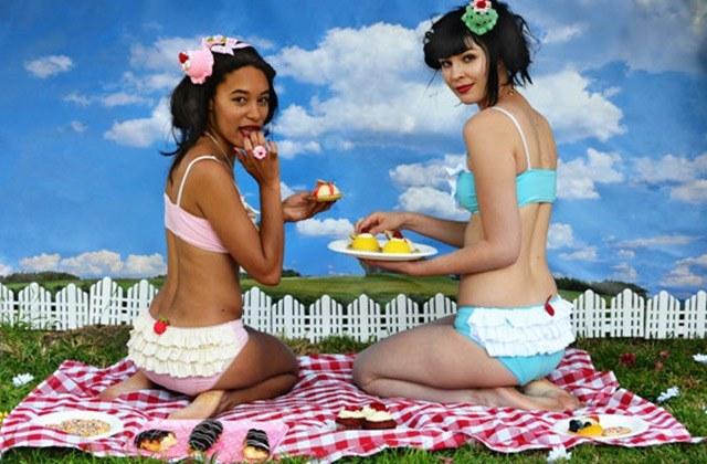 Knickerocker sort une collection de lingerie gourmande !