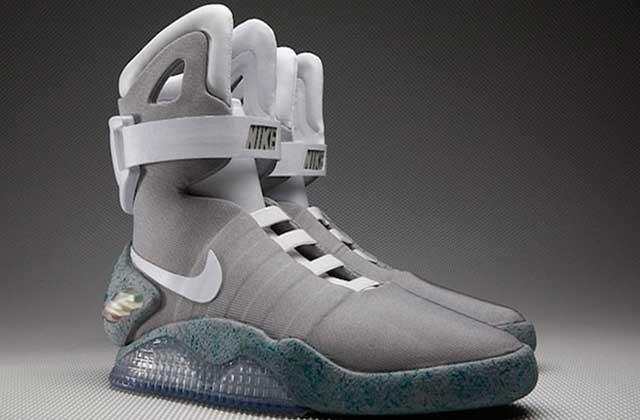 Nike dévoile les baskets à laçage automatiquede « Retour vers le futur »!