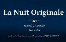 La Nuit Originale, c'est 12h de webradio à partir de 16h sur madmoiZelle !